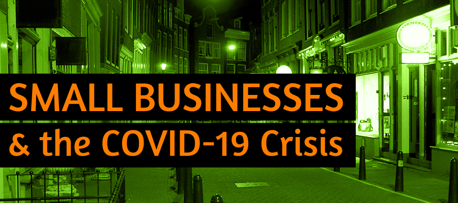 Small Businesses and the COVID-19 Crisis